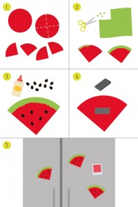 Watermelon-magnet
