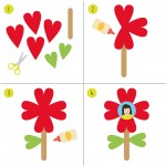 Heart Flower Activity