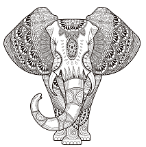 adult-elephant-coloring-page