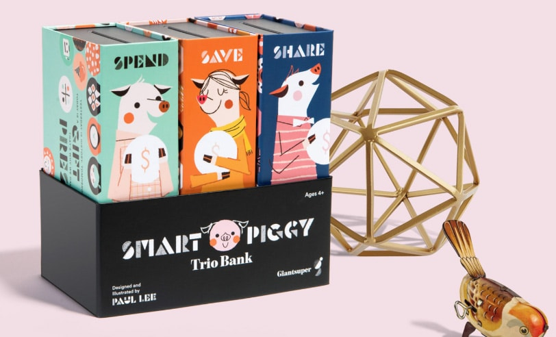 These three little pigs can teach your kids how to be good with cash.
