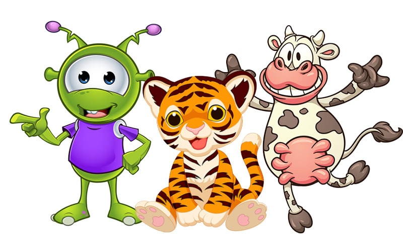 Alien, Tiger, Cow improve game