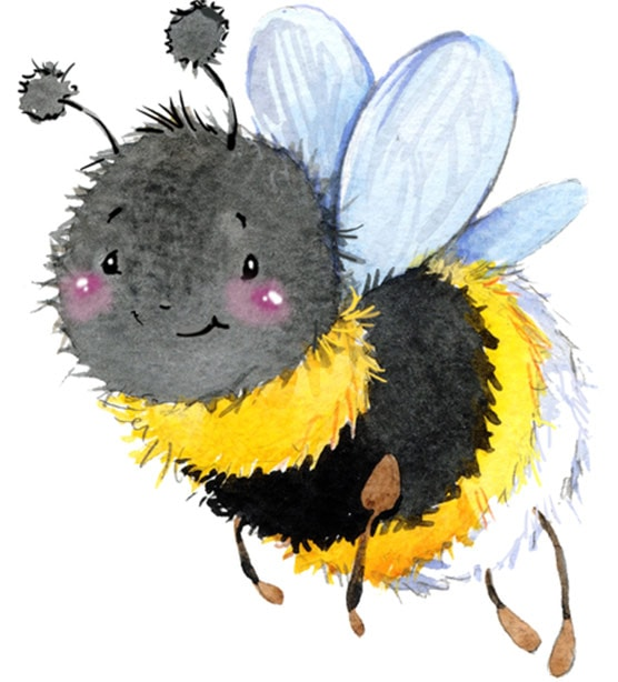 Bumblebees are scary to elephants