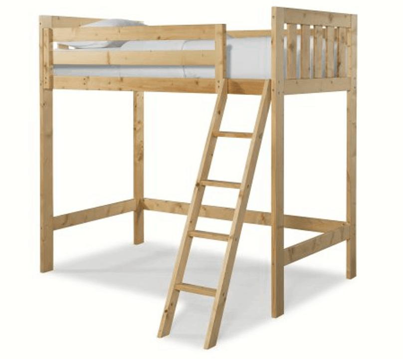Canwood Lakecrest White Loft Bed