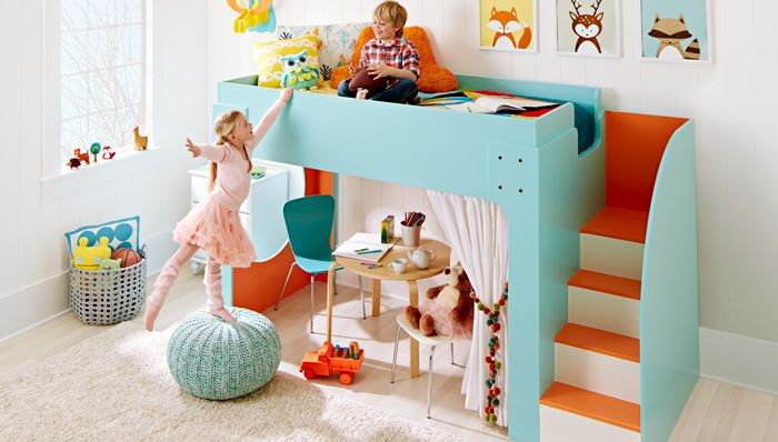 12 Fun And Functional Loft Beds For Kids Childfun